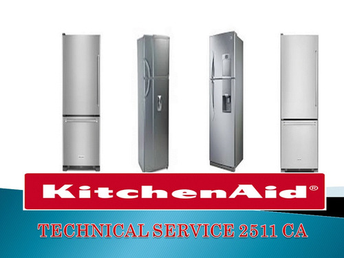 kitchenaid servicio técnico autorizado en neveras
