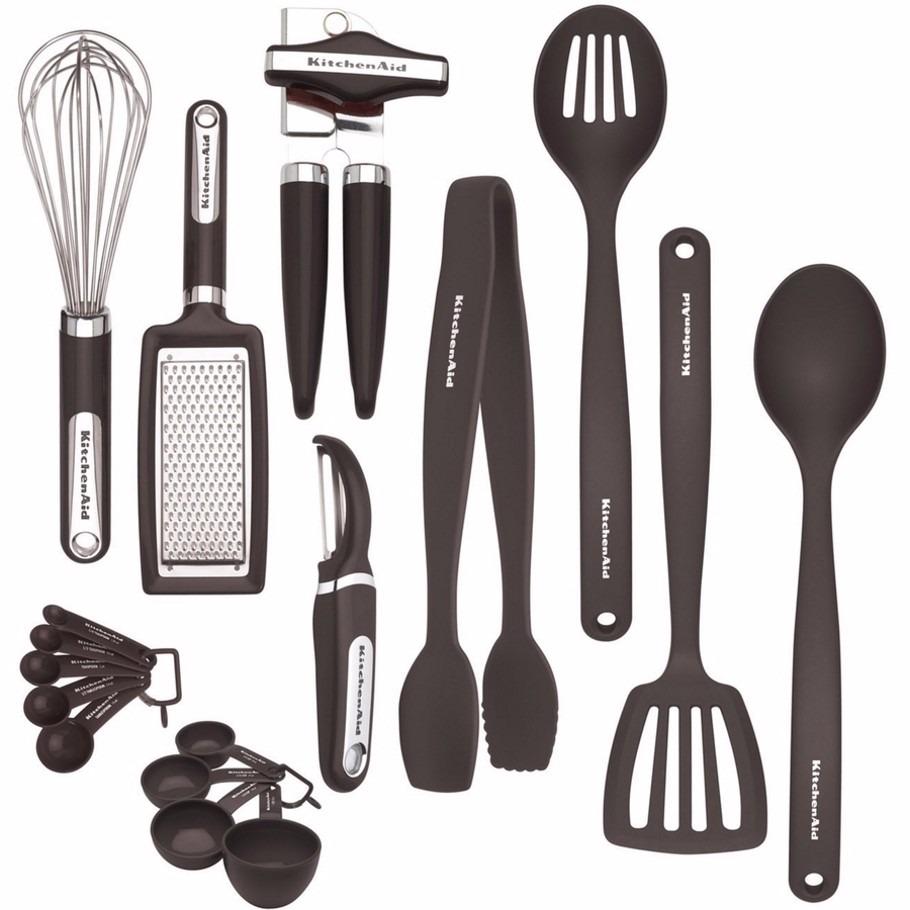 Kitchenaid Set De 17 Utensilios De Cocina - Trescubiertos - $ 1.999 ...