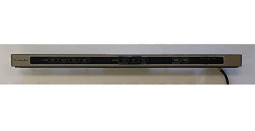 kitchenaid w10481130lavavajillas panel de control