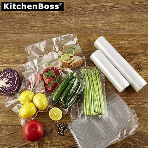 kitchenboss bolsas para sellado al vacío