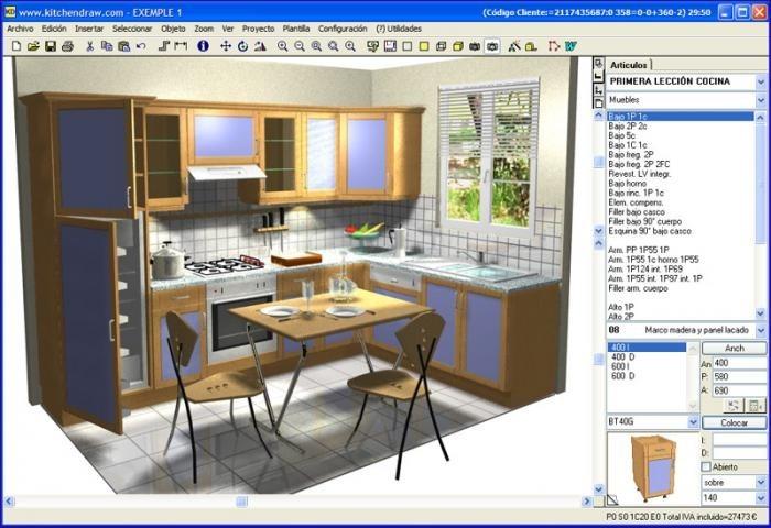 Kitchendraw Kd 4.5 Programa Para El Diseño De Cocinas 3d - Bs. 0,03 ...