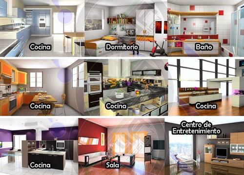 kitchendraw kd 6.5 diseño de cocinas + opt cortes + extras