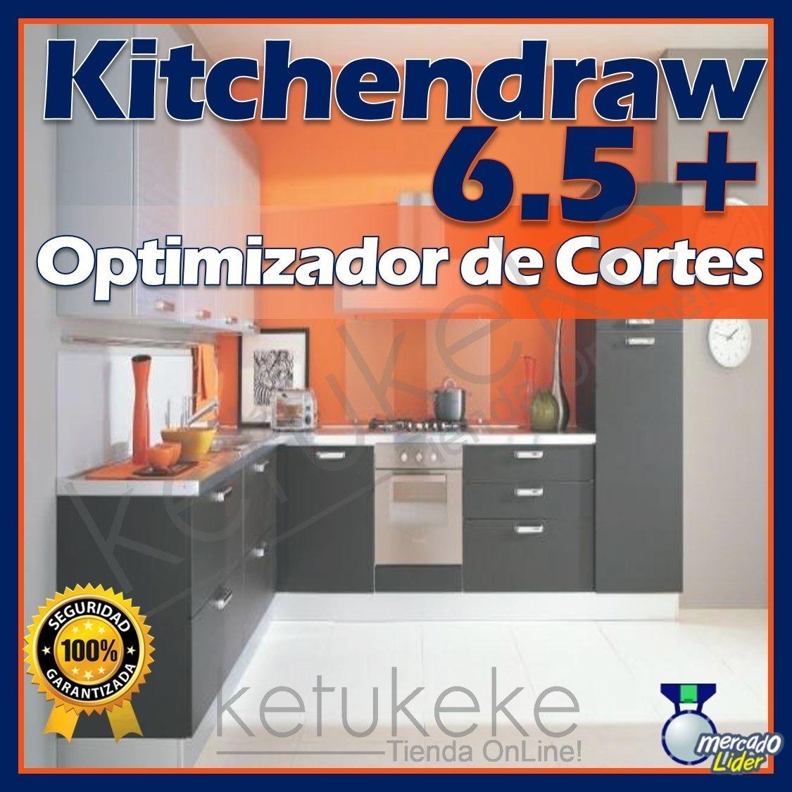 Kitchendraw Kd Diseño De Cocinas Ultima Version +opt Cortes ...