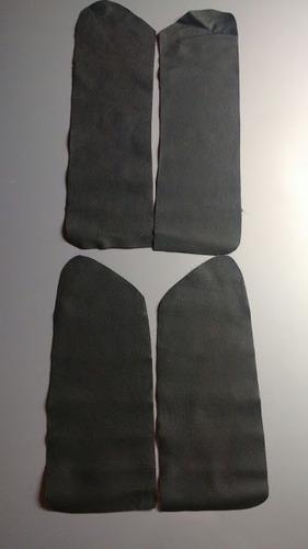 kite forro d portas do tr4 em couro ecologico  cor grafite