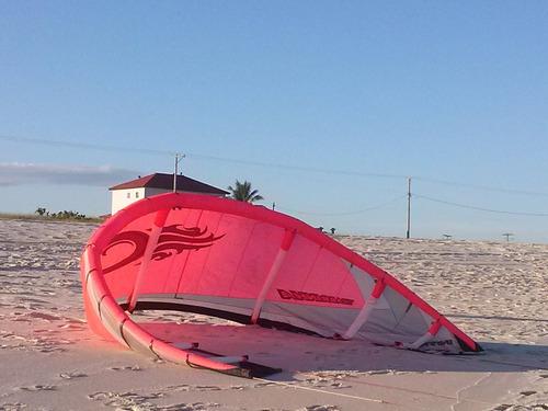 kitesurf cabrinha nitro 12 ótimo estado com barra e mochila