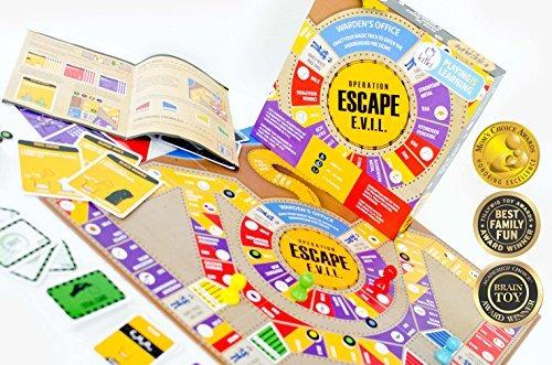 Kitki Escape Evil Diversion Juegos De Mesa Educativos Stem