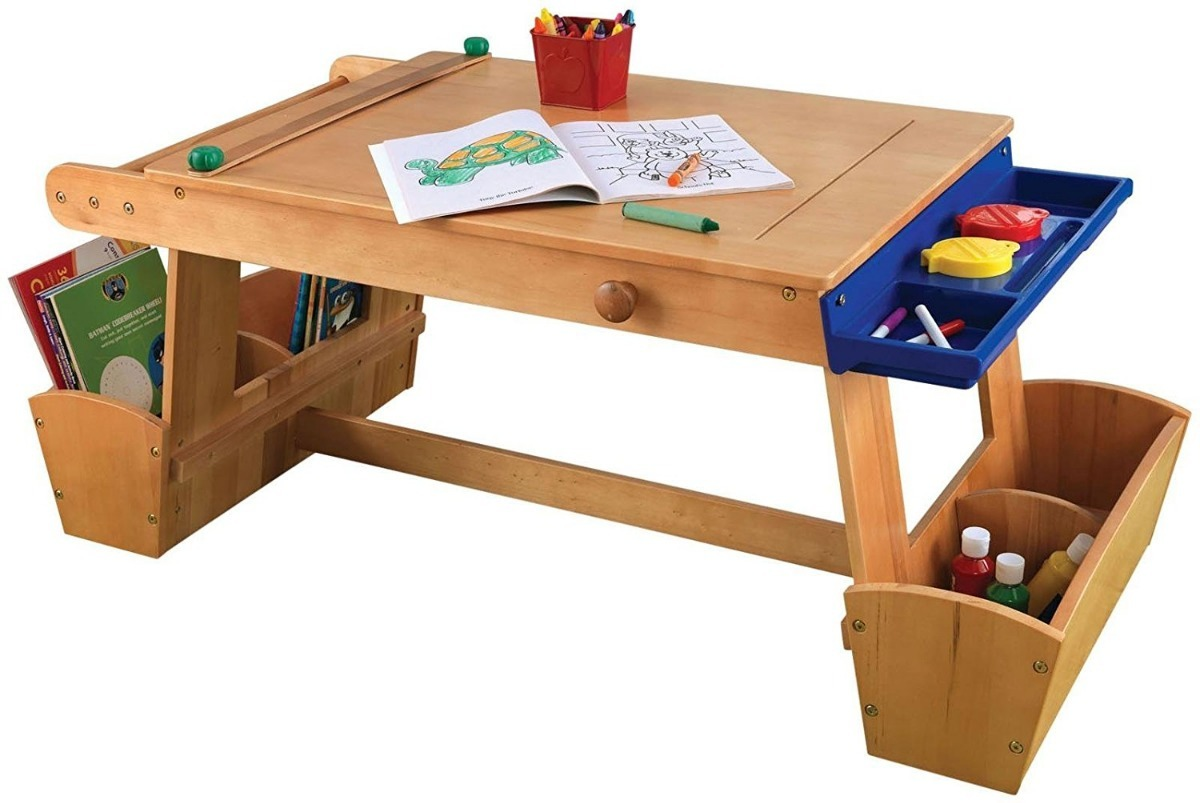Kitkraft Mesa Para Niños De Arte Dibujo Para Pintar - $ 5,595.00 en ...