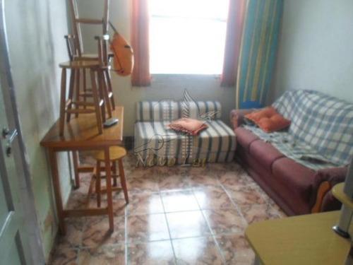 kitnet a venda em praia grande, ocian, 1 dormitório, 1 banheiro - kit15