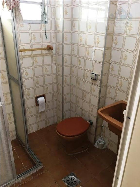kitnet alugar, 30 m² por r$ 1.000 - josé menino - santos/sp - kn0229