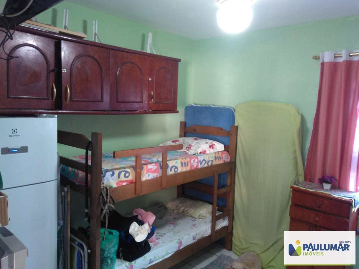 kitnet com 1 dorm, centro, mongaguá - r$ 120 mil, cod: 4207 - v4207