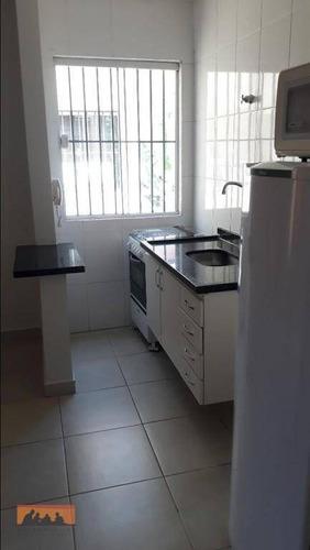 kitnet com 1 dormitório para alugar, 24 m² por r$ 1.550,00/ano - cidade universitária - campinas/sp - kn0106