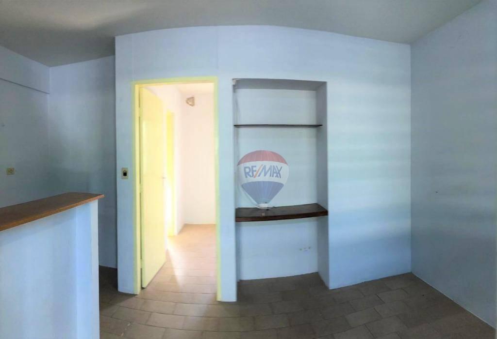 kitnet com 1 dormitório para alugar, 27 m² por r$ 650/mês - centro - botucatu/sp - kn0026