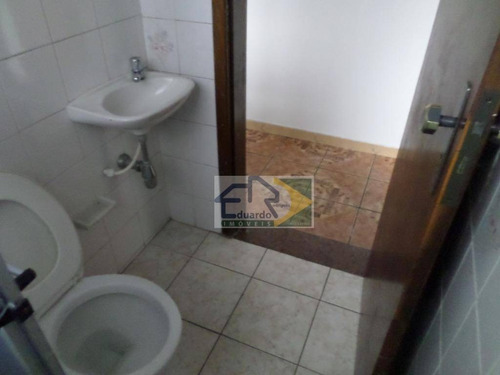kitnet com 1 dormitório para alugar, 28 m² por r$ 600/mês - centro - suzano/sp - kn0034