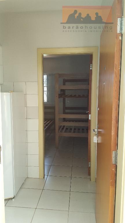 kitnet com 1 dormitório para alugar, 30 m² por r$ 1.900,00/ano - cidade universitária - campinas/sp - kn0076