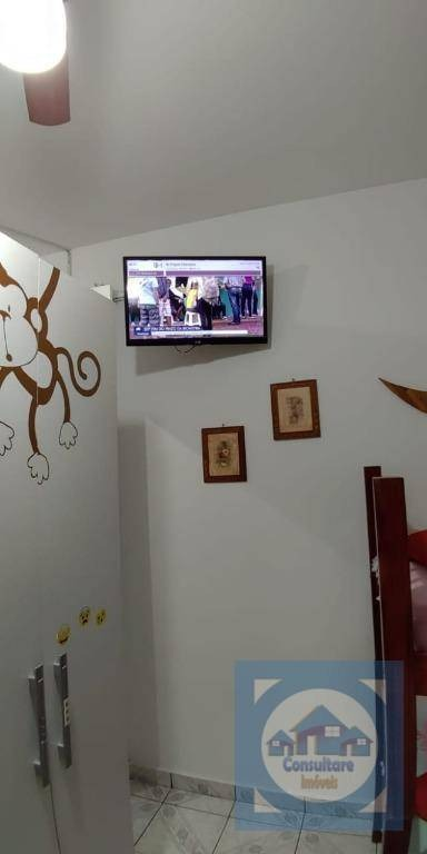 kitnet com 1 dormitório para alugar, 40 m² por r$ 1.600/mês - josé menino - santos/sp - kn0611