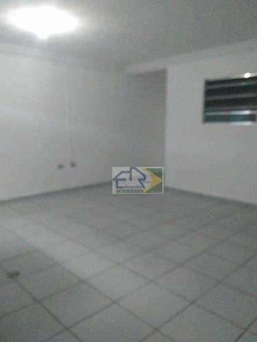 kitnet com 1 dormitório para alugar, 50 m² por r$ 750/mês - centro - suzano/sp - kn0026
