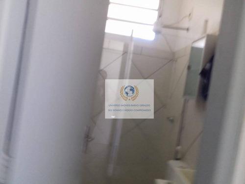 kitnet com 1 dormitório para alugar, 9 m² por r$ 900/mês - cidade universitária - campinas/sp - kn0080