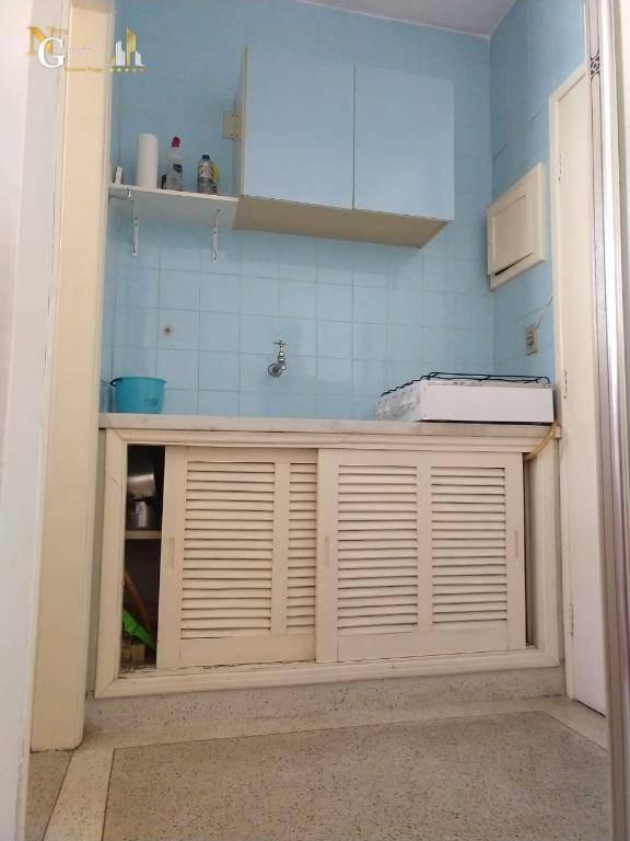 kitnet com 1 dormitório à venda, 18 m² por r$ 78.000 - ocian - praia grande/sp - kn0281