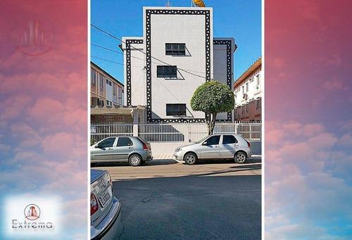 kitnet com 1 dormitório à venda, 20 m² por r$ 79.000,00 - cidade ocian - praia grande/sp - kn0123