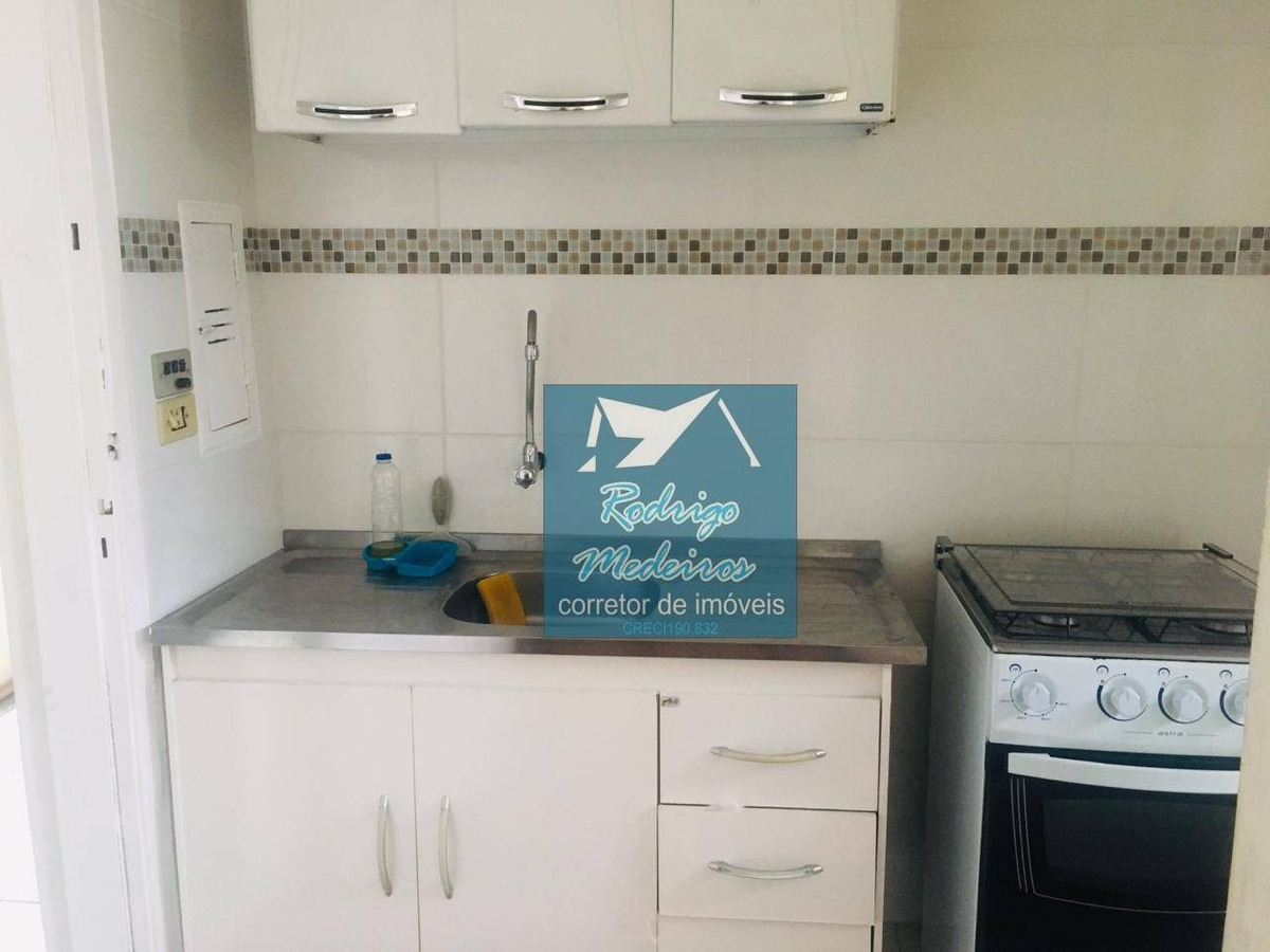 kitnet com 1 dormitório à venda, 22 m² por r$ 73.000 - ocian - praia grande/sp - kn0058