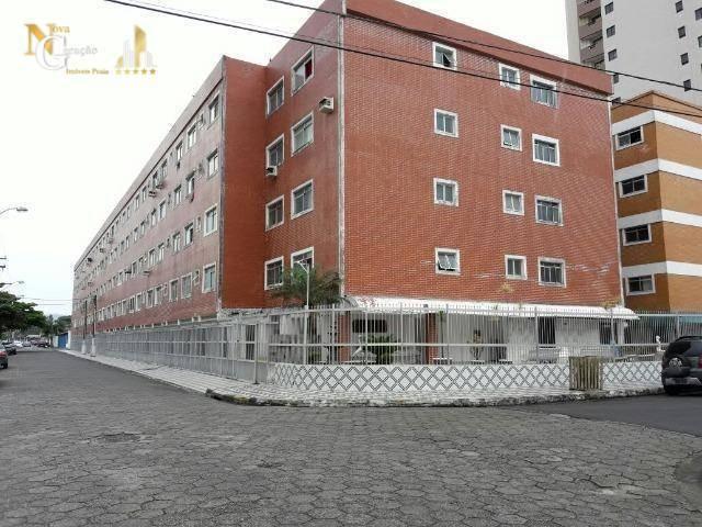kitnet com 1 dormitório à venda, 30 m² por r$ 105.000 - aviação - praia grande/sp - kn0252