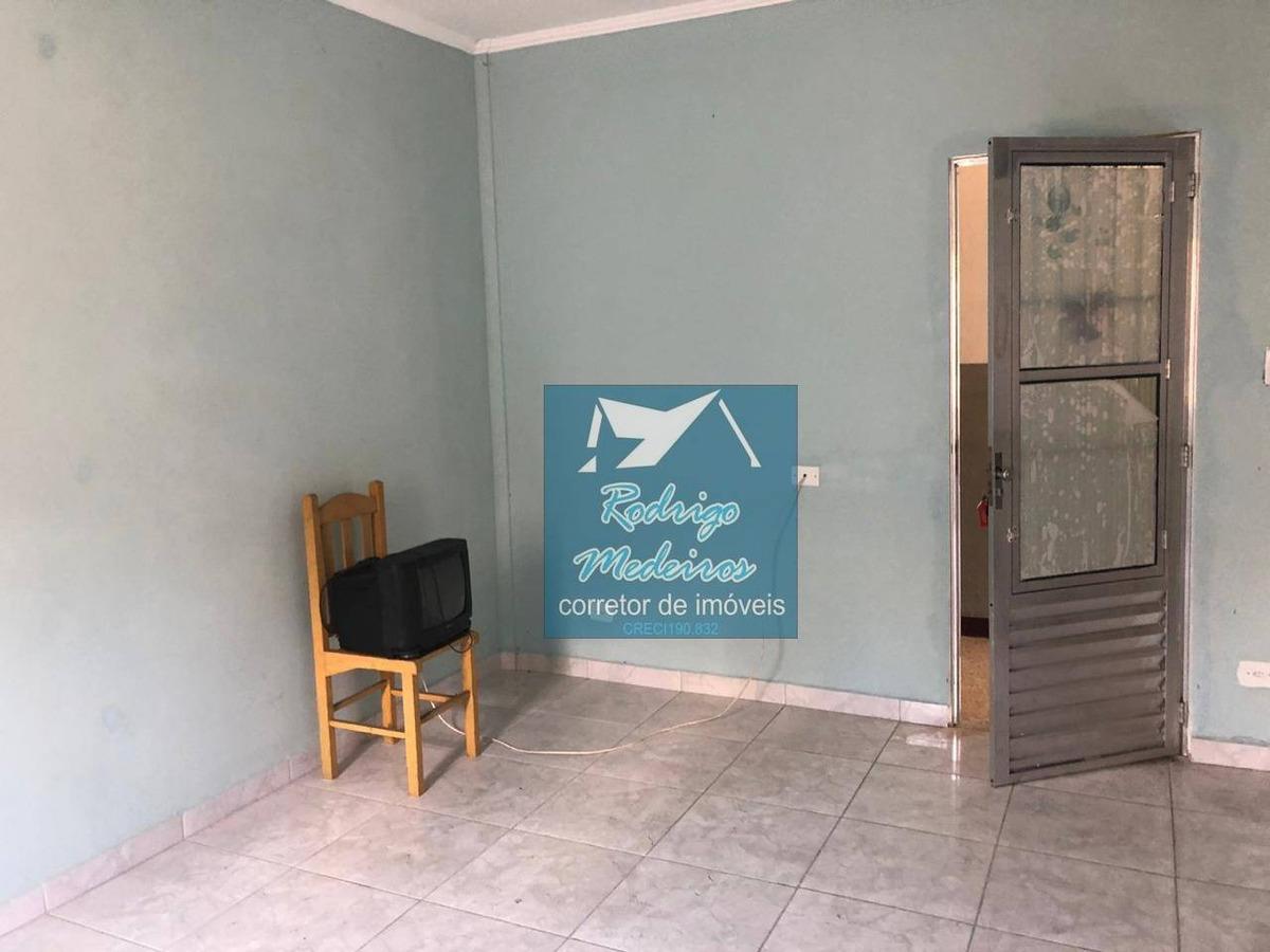 kitnet com 1 dormitório à venda, 30 m² por r$ 105.000 - boqueirão - praia grande/sp - kn0031