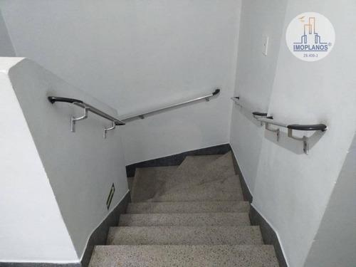 kitnet com 1 dormitório à venda, 30 m² por r$ 105.000 - campo da aviação - praia grande/sp - kn0647