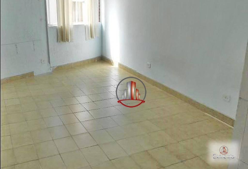 kitnet com 1 dormitório à venda, 30 m² por r$ 115.000,00 - caiçara - praia grande/sp - kn0233