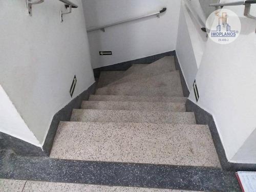 kitnet com 1 dormitório à venda, 30 m² por r$ 128.000 - campo da aviação - praia grande/sp - kn0637