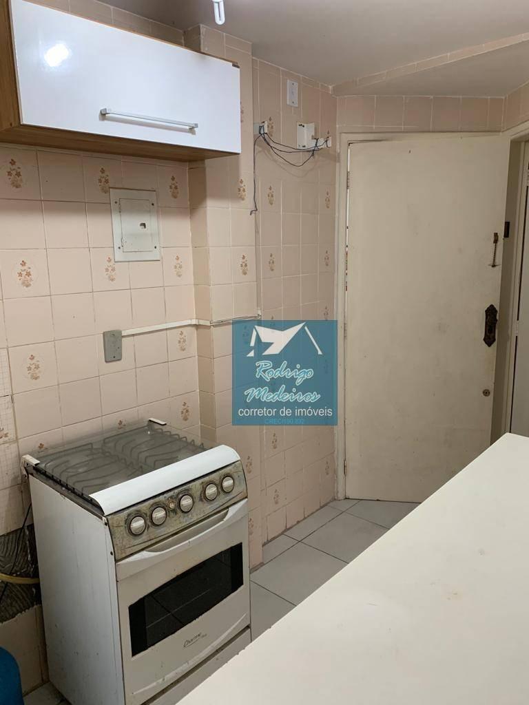 kitnet com 1 dormitório à venda, 30 m² por r$ 99.000,00 - aviação - praia grande/sp - kn0052