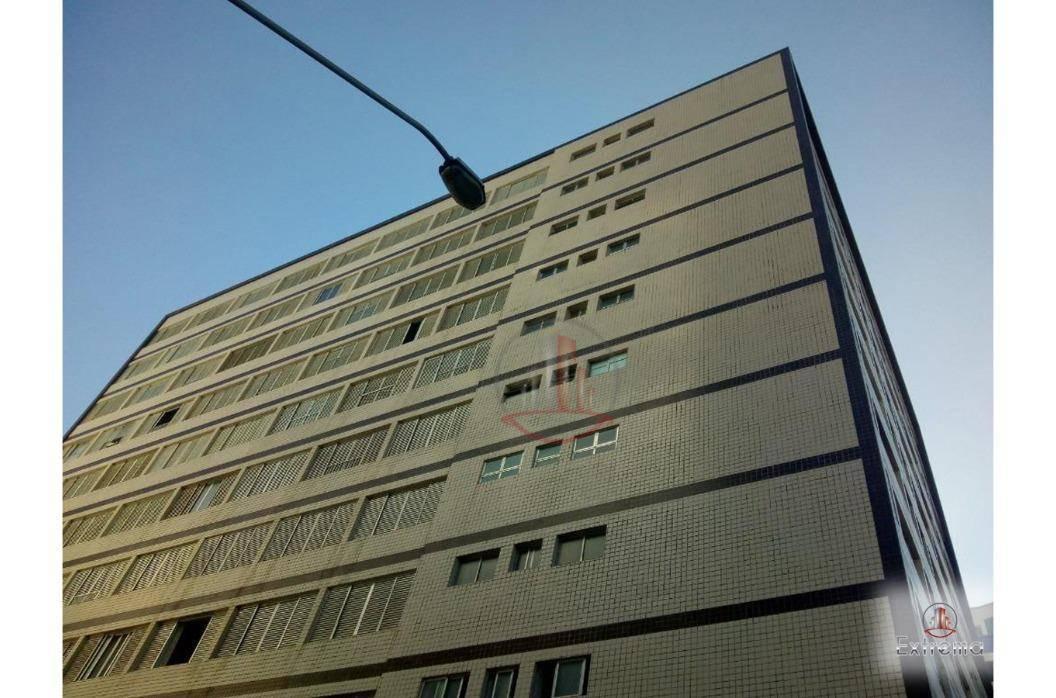 kitnet com 1 dormitório à venda, 32 m² por r$ 130.000,00 - vila guilhermina - praia grande/sp - kn0154