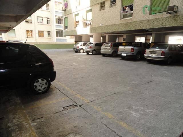 kitnet com 1 dormitório à venda, 32 m² por r$ 165.000,00 - aparecida - santos/sp - kn0017