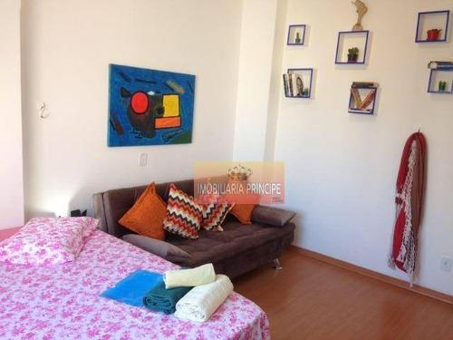 kitnet com 1 dormitório à venda, 32 m² por r$ 179.000 - santa efigênia - são paulo/sp - kn0185