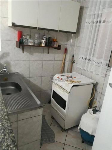kitnet com 1 dormitório à venda, 35 m² por r$ 110.000 - aviação - praia grande/sp - kn0016