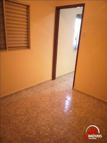 kitnet com 1 dormitório à venda, 35 m² por r$ 120.000 - boqueirão - praia grande/sp - kn0190
