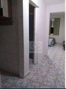 kitnet com 1 dormitório à venda, 35 m² por r$ 170.000,00 - josé menino - santos/sp - kn0221