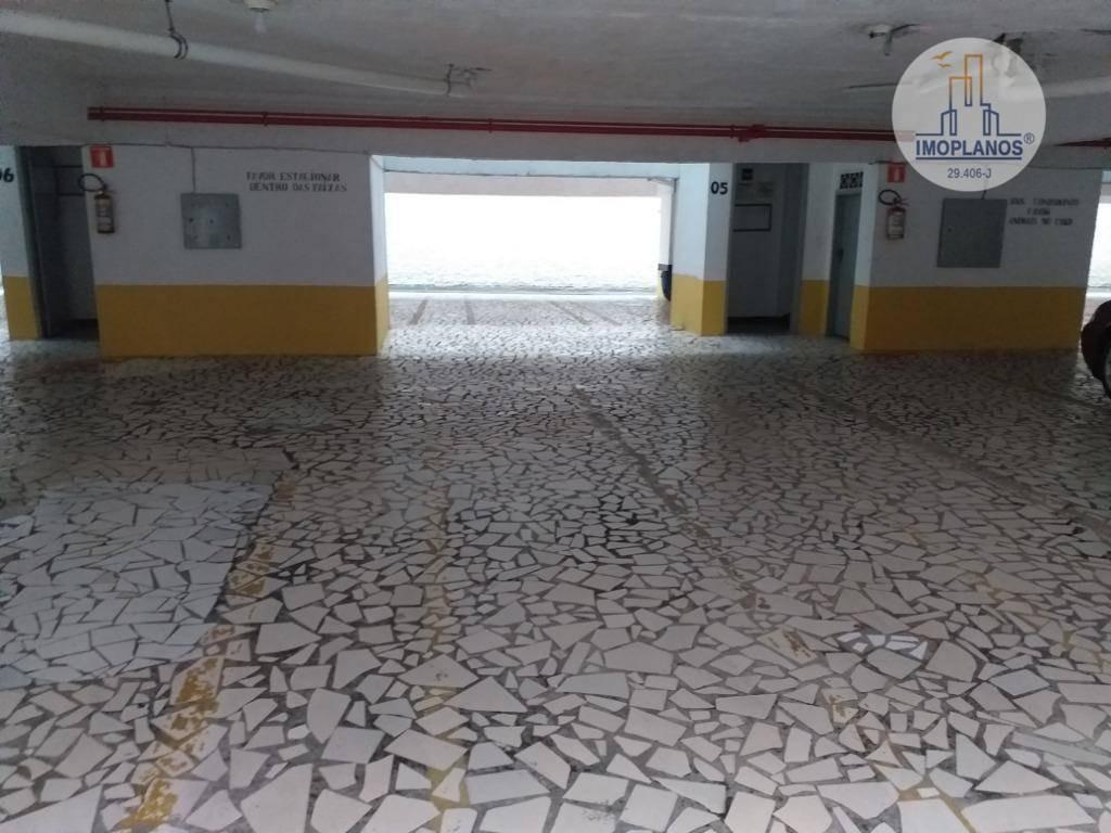 kitnet com 1 dormitório à venda, 40 m² por r$ 115.000 - campo da aviação - praia grande/sp - kn0659