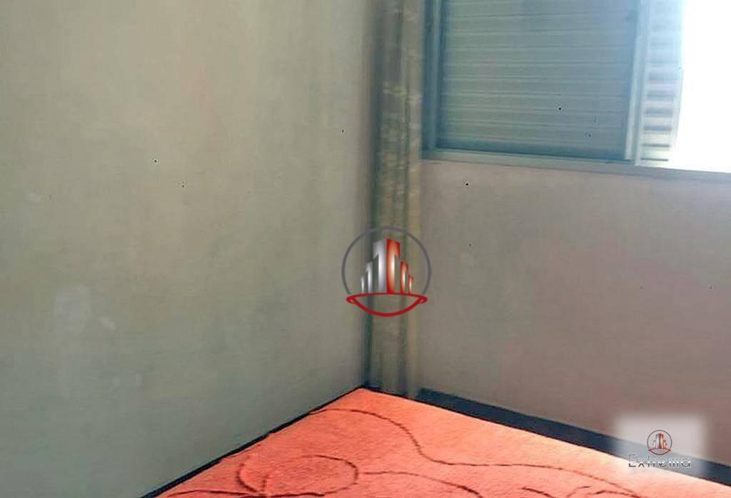 kitnet com 1 dormitório à venda, 40 m² por r$ 125.000,00 - mirim - praia grande/sp - kn0195