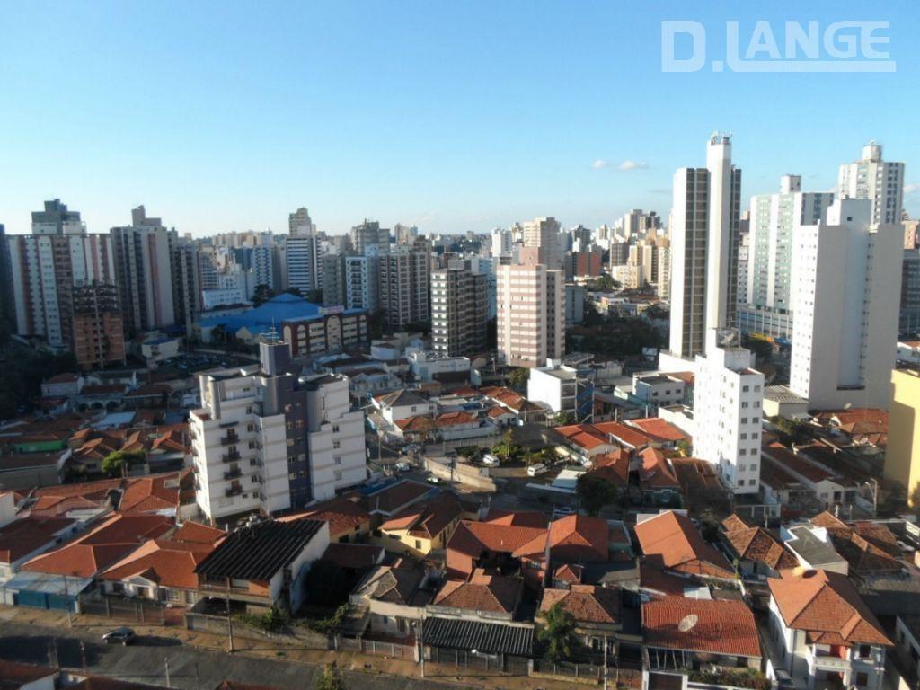 kitnet com 1 dormitório à venda, 42 m² por r$ 186.000,00 - centro - campinas/sp - kn0409