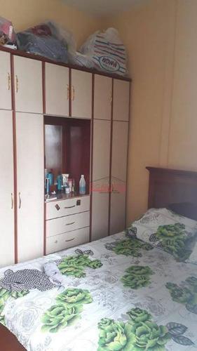 kitnet com 1 dormitório à venda, 48 m² por r$ 170.000,00 - santa efigênia - são paulo/sp - kn0123