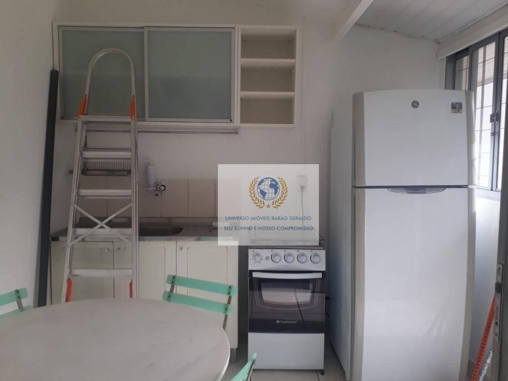 kitnet com 2 dormitórios para alugar, 40 m² por r$ 2.500,00/mês - cidade universitária - campinas/sp - kn0071