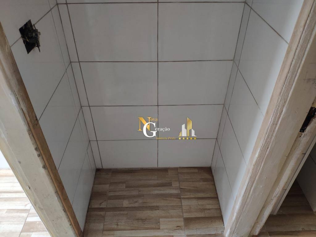 kitnet com elevador e vista mar na guilhermina - praia grande - kn0164