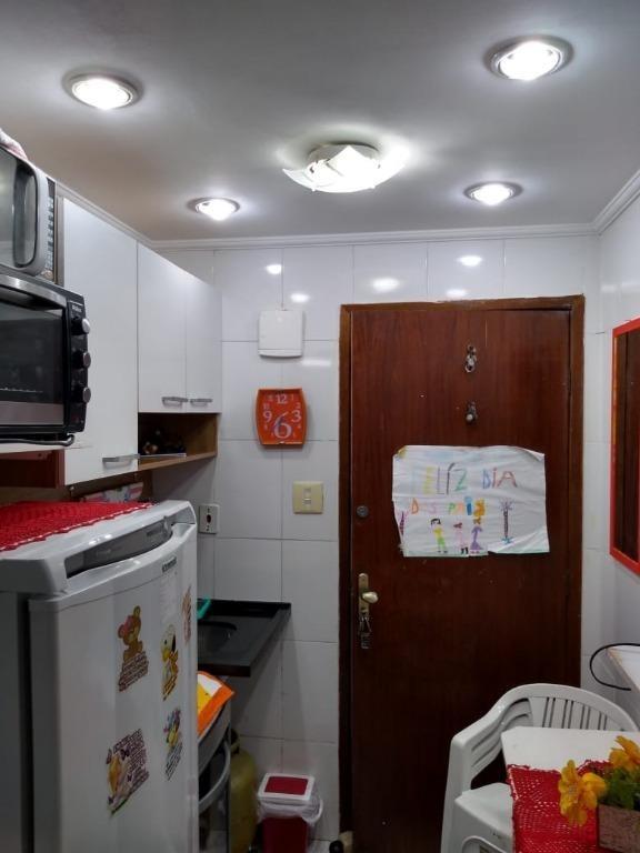 kitnet em centro, santos/sp de 30m² 1 quartos à venda por r$ 99.000,00 - kn221107