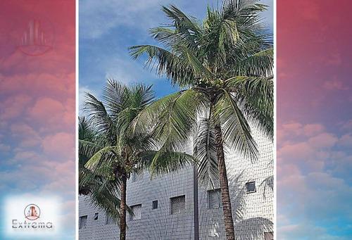 kitnet em praia grande, r$50.000,00 de entrada e chaves na mão. - kn0103