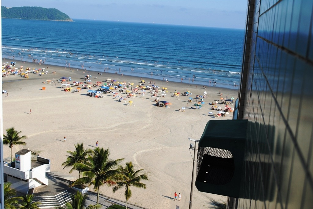 kitnet - frente mar - praia grande - vila guilhermina - apto
