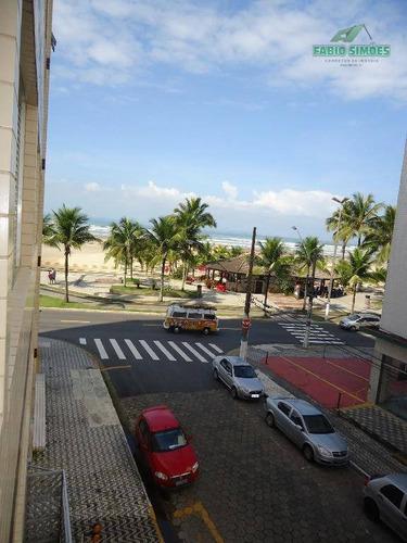 kitnet na vila guilhermina em praia grande de frente para a praia. - codigo: kn0026 - kn0026