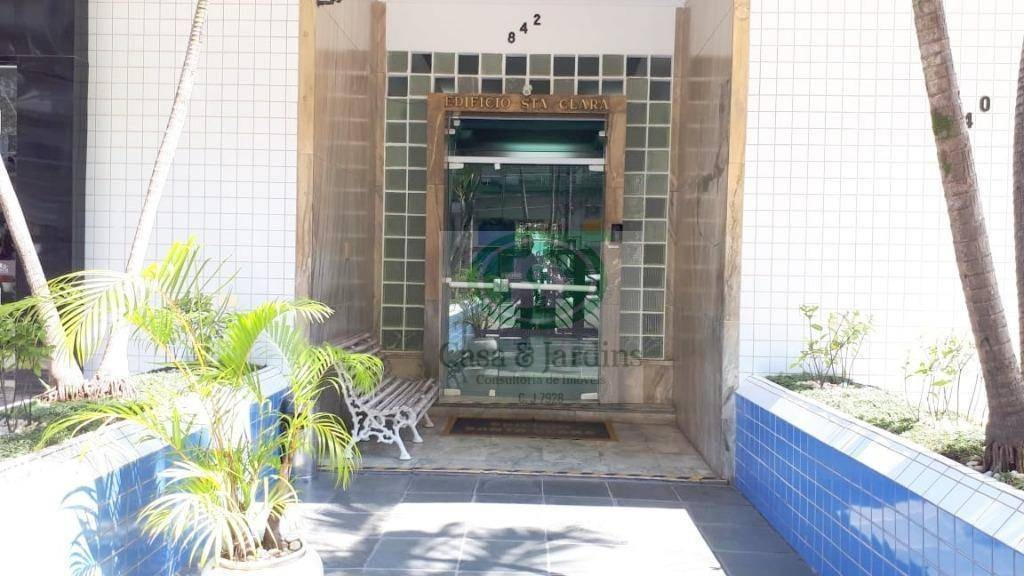 kitnet para alugar, 24 m² por r$ 1.000/mês - boqueirão - santos/sp - kn0100