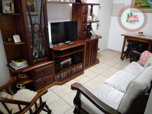 kitnet residencial á venda, canto do forte - kn0199