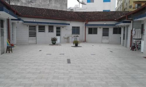 kitnet residencial com garagem à venda, vila guilhermina, praia grande. - kn0105