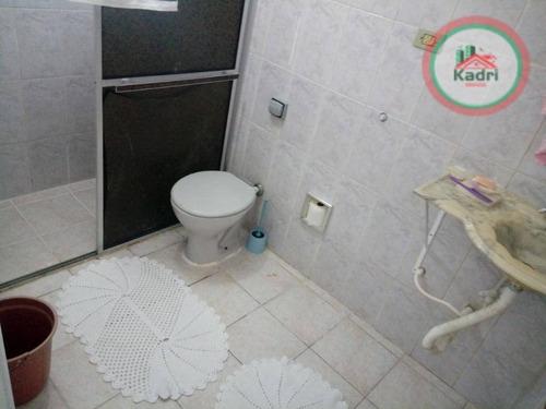 kitnet residencial para locação, canto do forte, praia grande - kn0168. - kn0168
